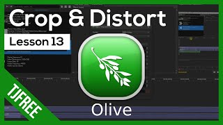 Olive Lesson 13 - Cŗop Video and Other Distort Effects