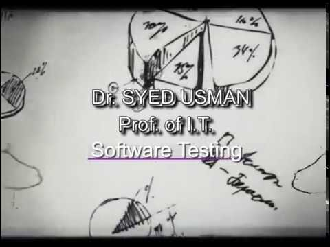 Expert lecture on software testing by syed usman ahmed