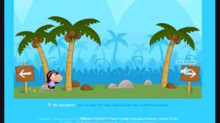 PopTropica-How To Beat SharkTooth Island [FULL]