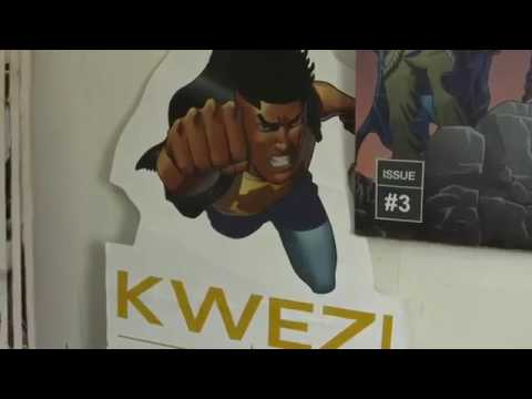 Kwezi - Africa's cartoon superhero