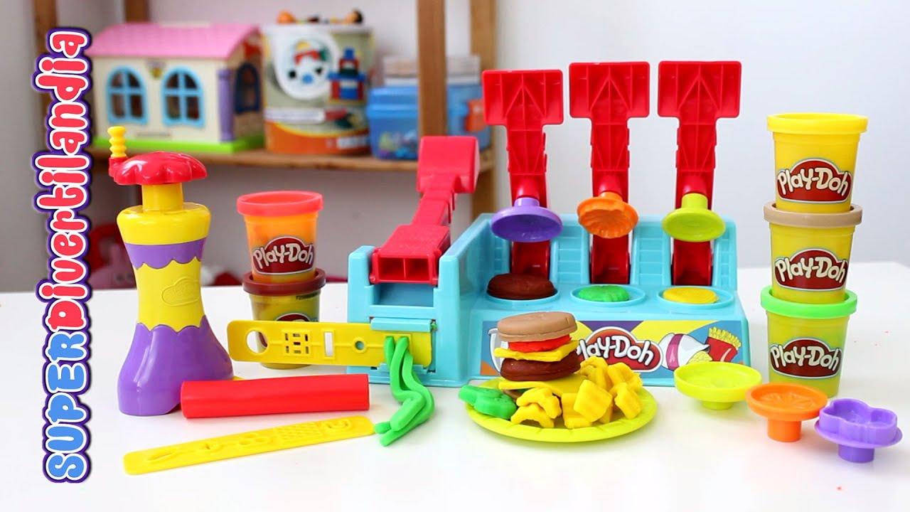 la hamburgueser a de play doh play doh burger builder. Black Bedroom Furniture Sets. Home Design Ideas