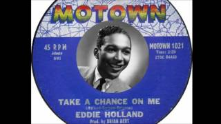 Eddie Holland - Take A Chance On Me (1961)