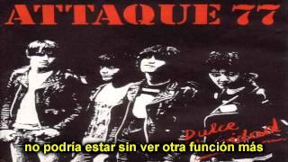 Attaque 77 - Caminando Por El Microcentro (Con Letra)