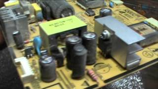 Не включається монітор Samsung SyncMaster 203B Блимає лампочка Огляд Ремонту