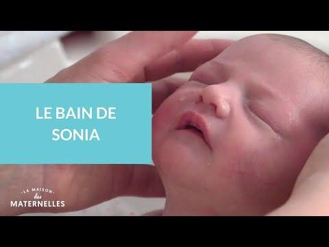 Le bain Thalasso  bébé