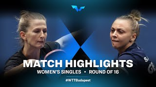 Olga Vorobeva vs Sabina Surjan   WTT Contender Budapest 2021 (R16)