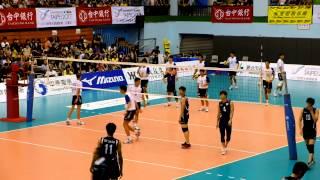 20130703亞洲青年男子排球錦標賽 台灣vs韓國之自由攻擊片段