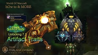 hOw to-Legion 7.2 Unlocking 7.2 Artifact Traits-Protection Paladin Quest Line - For All Tanks