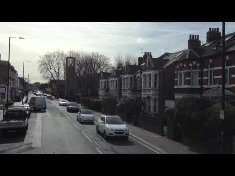 London Fulham Palace Road 74 Bus