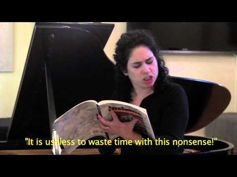 Italian Opera Parody: Rinat Shaham and Noam Sivan
