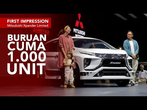 First Impression Mitsubishi Xpander Limited
