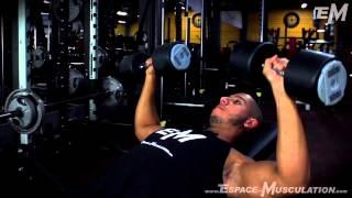 Développé Incliné aux Haltères - Exercice de Musculation Pectoraux