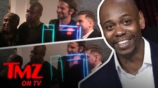 Bradley Cooper & Jonah Hill Checked Out Dave Chappelle Comedy Show | TMZ TV
