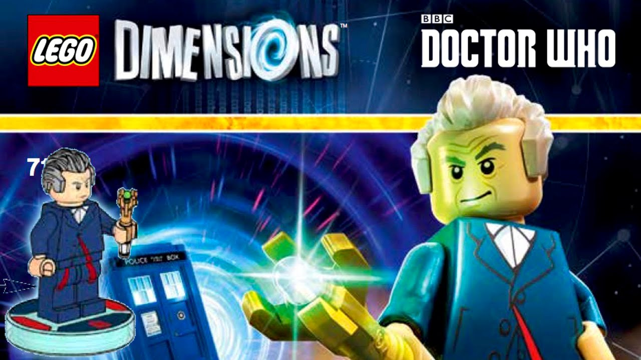 lego dimensions official doctor who portal 2 the simpsons minifigures and packs youtube. Black Bedroom Furniture Sets. Home Design Ideas