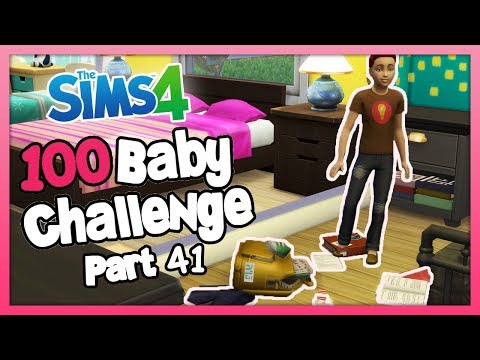 The Sims 4: 100 Baby Challenge with Toddlers - Part 41 - WE ADDED PARENTHOOD!
