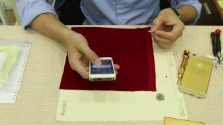 Hướng dẫn tháo lắp iPhone 5SE mạ vàng 24K tại Tp HCM, Hà Nội
