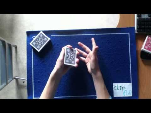 tour de magie carte bleu