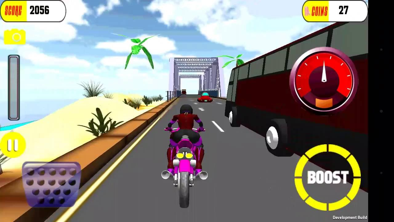 top 10 bike games for android : Highway MotoBike Racer Rider