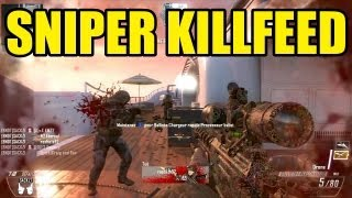 BLACK OPS 2 SNIPER KILLFEED | Call of duty