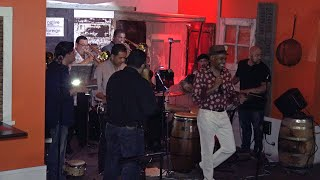 Vintage Video: Aris Martinez y su Orq. en Morris Distillery 05/14/16  -     Rebelion YouTube Videos