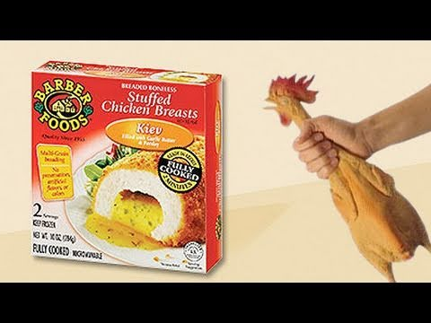Video Review Of Barber Foods Stuffed Chicken Breast Kiev Youtube