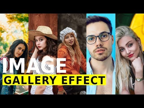 Expanding Image Gallery Effect Using HTML & Flexbox - Website Design Tutorial
