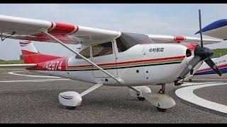 RC Cessna 182 RCセスナ182のフライト