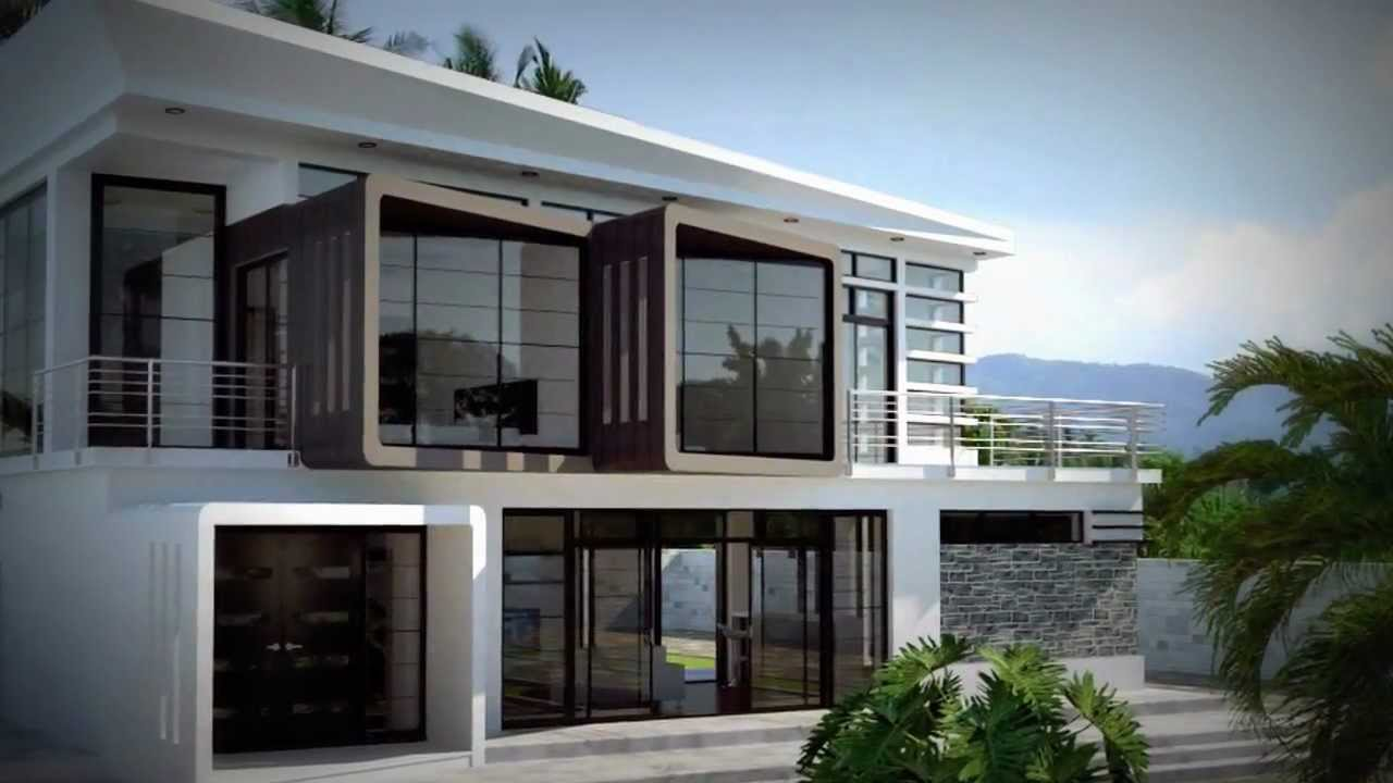 sketchup exterior designs youtube