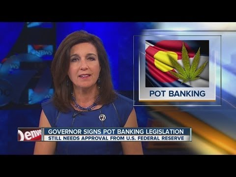 Marijuana banking plan becomes law