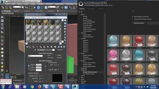 Sigershaders / Install / Vray material presets pro 3.00 Autodesk 3ds max 2017