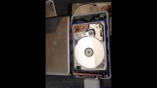 iPod 20gb hard drive failure sounds