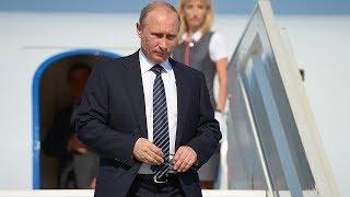 Прилет Владимира Путина в Ереван. Полное видео