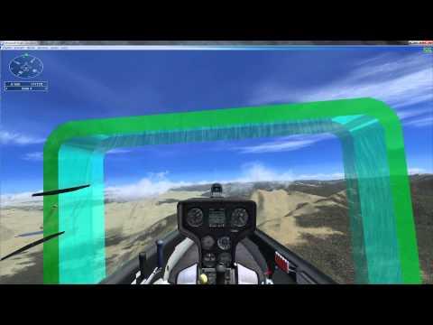 FSX Missions - 4 (Tutorial 7 Glider Soaring)