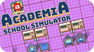Academia - COMPUTER LAB & 100 STUDENTS!! - Academia School Simulator Gameplay #3