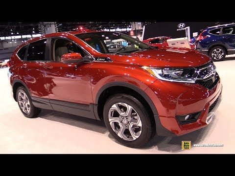 2019 Honda CRV AWD - Exterior and Interior Walkaround - 2019 Chicago Auto Show