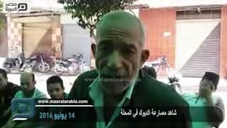 مصر العربية | شاهد مصارعة الديوك في المحلة