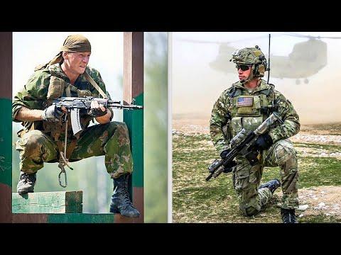 Сравниваем спецназ США
