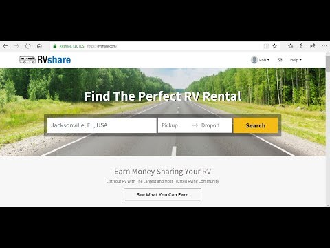 RV Rental-How to rent an RV-RVshare review