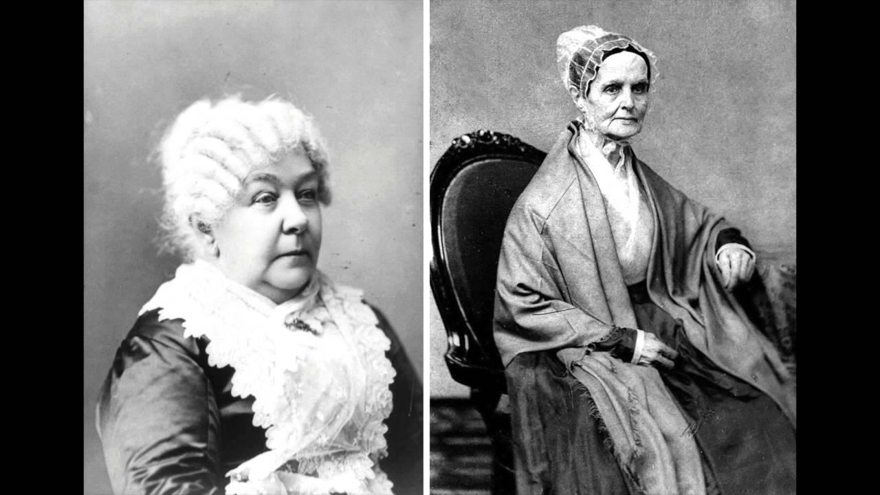 how did elizabeth cady stanton and lucretia mott meet