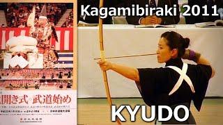 Kyudo - Nippon Budokan Kagamibiraki 2011