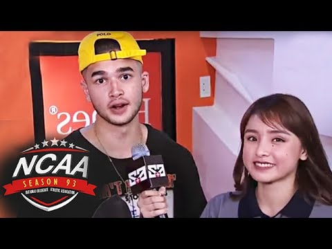 Kobe Paras makes an appearance in the NCAA!