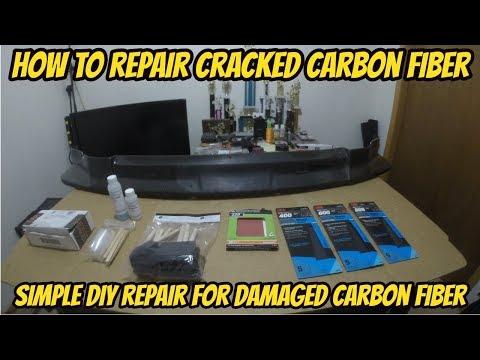 How To Repair Cracked Carbon Fiber (Part 1)