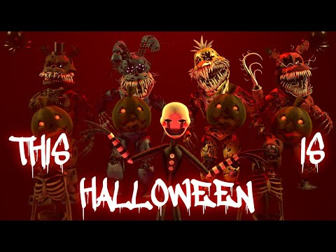 [FNAF SFM] This Is Halloween Marilyn Manson Cover