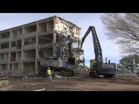 Los Alamos National Laboratory Tearing Down Old Administration Building