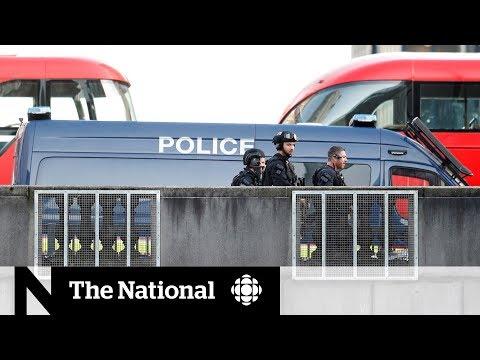 Bystanders tackle attacker in London Bridge stabbing