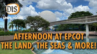 An Afternoon at EPCOT | The Land, The Seas & More!