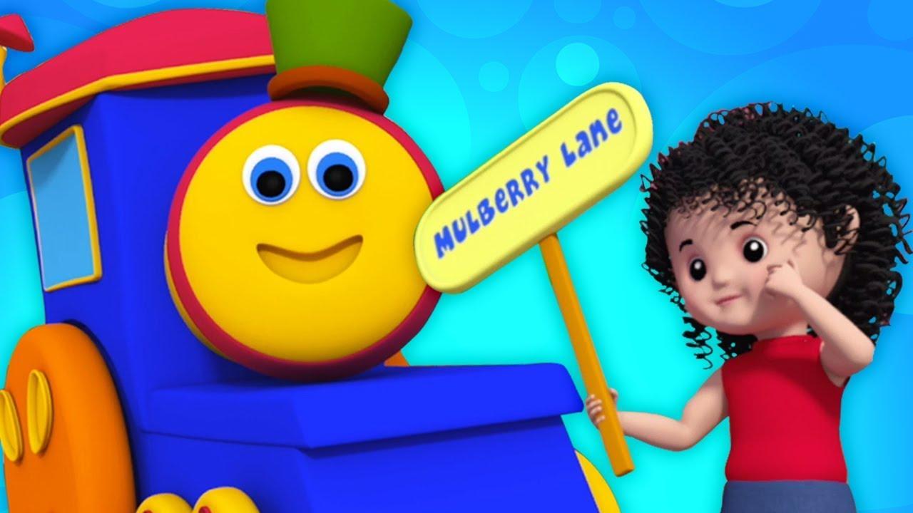 bob le train l 39 homme muffin chansons pour enfants nourriture chanson bob train muffin. Black Bedroom Furniture Sets. Home Design Ideas
