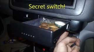 DIY secret compartment VW Audi Skoda Seat SECRET SWITCH Free Hack Mod Polo 6n2