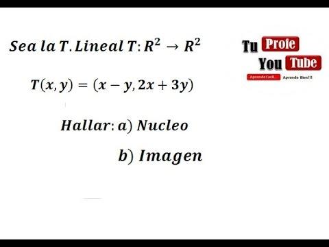 Nucleo de una matriz pdf