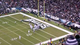 dallas cowboys first touchdown vs eagles